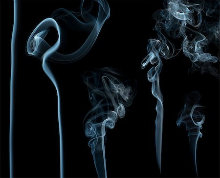 smoke magic abstract - Smoke on black background. Swirls and art Stock Photo - Budget Royalty-Free & Subscription, Code: 400-07295602
