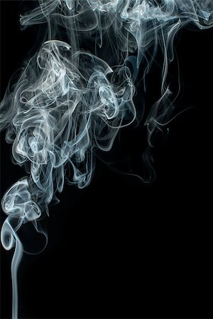 smoke magic abstract - Smoke on black background. Swirls and art Stock Photo - Budget Royalty-Free & Subscription, Code: 400-07295611