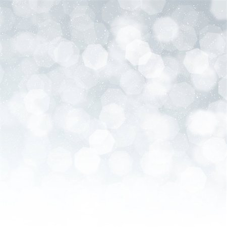 sparks with white background - Blurred bokeh christmas background with snowflakes Stock Photo - Budget Royalty-Free & Subscription, Code: 400-07299340