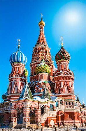 The Most Famous Place In Moscow, Saint Basil's Cathedral, Russia Stock Photo - Budget Royalty-Free & Subscription, Code: 400-07325953