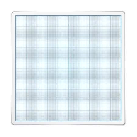 Square graph paper on white background, vector eps10 illustration Stock Photo - Budget Royalty-Free & Subscription, Code: 400-07417952