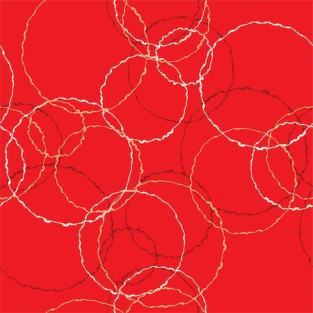 pzromashka (artist) - vector seamless abstract red background. Pattern on red background Stock Photo - Budget Royalty-Free & Subscription, Code: 400-07410706