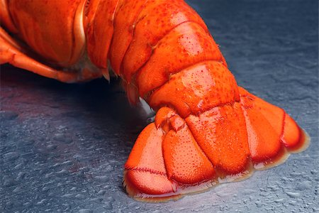 Lobster tail Stock Photo - Budget Royalty-Free & Subscription, Code: 400-07424610
