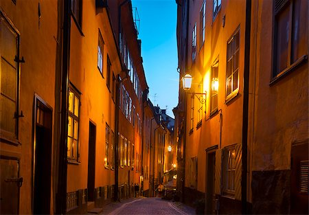 Stockholm Old Town Stock Photo - Budget Royalty-Free & Subscription, Code: 400-07425258