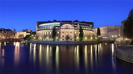 Parlament building in Stockholm Stock Photo - Budget Royalty-Free & Subscription, Code: 400-07425274