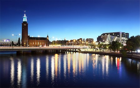 The city hall, Stockholm Stock Photo - Budget Royalty-Free & Subscription, Code: 400-07425276