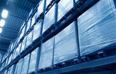 Warehouse Stock Photo - Budget Royalty-Free & Subscription, Code: 400-07428464