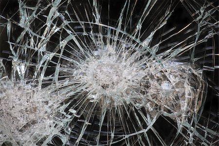 Broken Window Stock Photo - Budget Royalty-Free & Subscription, Code: 400-07428462