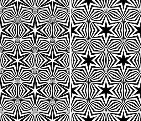Set of Two Seamless Starry Patterns. Vector Illustration Stock Photo - Budget Royalty-Free & Subscription, Code: 400-07464841