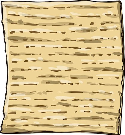 Vector illustration of Matzo Matza from the Jewish holiday Passover. Stock Photo - Budget Royalty-Free & Subscription, Code: 400-07471027