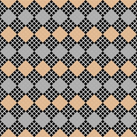 simsearch:400-04476890,k - Design seamless diamond geometric pattern. Abstract checkered background. Vector art Stock Photo - Budget Royalty-Free & Subscription, Code: 400-07512927