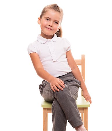 raysay (artist) - it's comfortable to posing while sitting on a chair Stock Photo - Budget Royalty-Free & Subscription, Code: 400-07545926