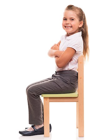raysay (artist) - it's comfortable to posing while sitting on a chair Stock Photo - Budget Royalty-Free & Subscription, Code: 400-07545927