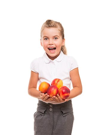 raysay (artist) - You need to get vitamins of fresh fruits from childhood Stock Photo - Budget Royalty-Free & Subscription, Code: 400-07545934