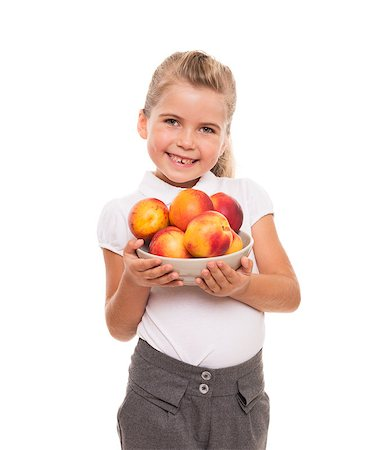 raysay (artist) - You need to get vitamins of fresh fruits from childhood Stock Photo - Budget Royalty-Free & Subscription, Code: 400-07545932