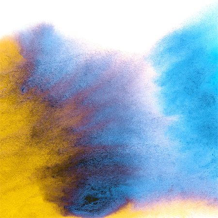 drop painting splash - Abstract hand drawn watercolor background, for backgrounds or textures Stock Photo - Budget Royalty-Free & Subscription, Code: 400-07549786