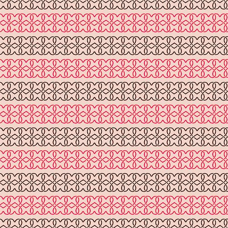 Hand Drawn Simple Geometric Seamless Pattern with Heart Silhouettes Stock Photo - Budget Royalty-Free & Subscription, Code: 400-07554731