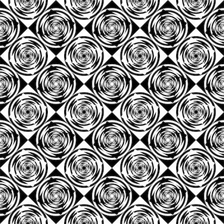 simsearch:400-04476890,k - Design seamless monochrome geometric pattern. Abstract diagonal background. Speckled texture. Vector art Stock Photo - Budget Royalty-Free & Subscription, Code: 400-07551554
