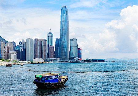 Hong Kong harbour Stock Photo - Budget Royalty-Free & Subscription, Code: 400-07572942