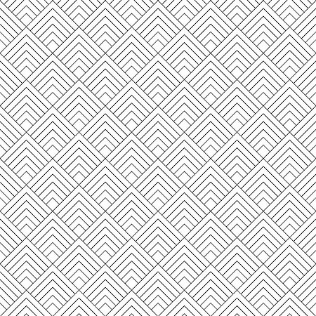 seamless - Modern Stylized Geometric Seamless Pattern. Vector Background Stock Photo - Budget Royalty-Free & Subscription, Code: 400-07614883