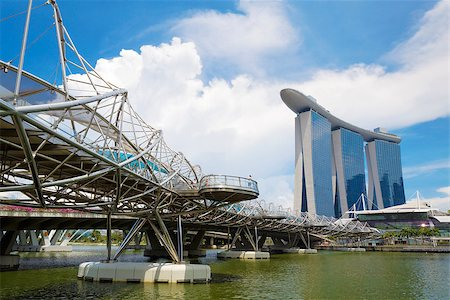 Singapore city skyline at day Stock Photo - Budget Royalty-Free & Subscription, Code: 400-07634369