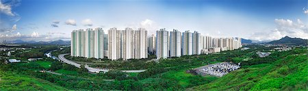 Public Estate in Hong Kong at day Stock Photo - Budget Royalty-Free & Subscription, Code: 400-07634383