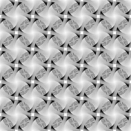 simsearch:400-04476890,k - Design seamless monochrome grid decorative pattern. Abstract diagonal background. Vector art Stock Photo - Budget Royalty-Free & Subscription, Code: 400-07631180