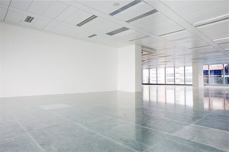 Bright empty office building interior Stock Photo - Budget Royalty-Free & Subscription, Code: 400-07667235