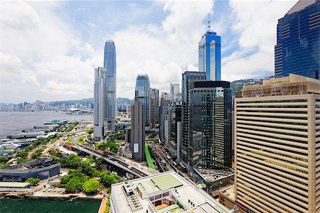Hong Kong City at day Stock Photo - Budget Royalty-Free & Subscription, Code: 400-07669007