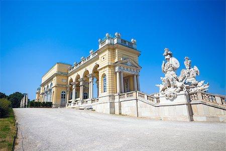 AUSTRIA, VIENNA - AUGUST 4, 2013: The Gloriette in Schoenbrunn Palace Garden, Vienna, Austria Stock Photo - Budget Royalty-Free & Subscription, Code: 400-07678616