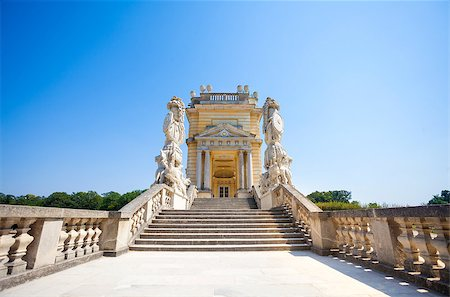 AUSTRIA, VIENNA - AUGUST 4, 2013: The Gloriette in Schoenbrunn Palace Garden, Vienna, Austria Stock Photo - Budget Royalty-Free & Subscription, Code: 400-07678613