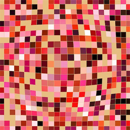 simsearch:400-04476890,k - Abstract geometric background with distorted colorful rectangles. Stock Photo - Budget Royalty-Free & Subscription, Code: 400-07679352