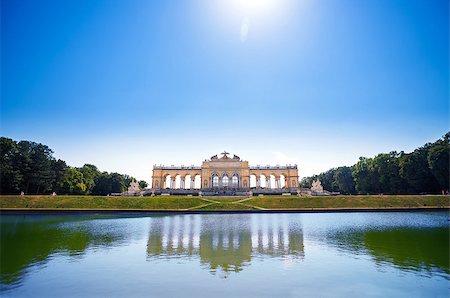 AUSTRIA, VIENNA - AUGUST 4, 2013: The Gloriette in Schoenbrunn Palace Garden, Vienna, Austria Stock Photo - Budget Royalty-Free & Subscription, Code: 400-07681664