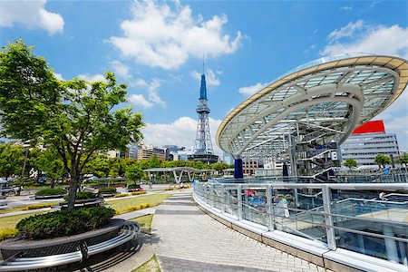 Nagoya, Japan city skyline with Nagoya Tower. Stock Photo - Budget Royalty-Free & Subscription, Code: 400-07716966