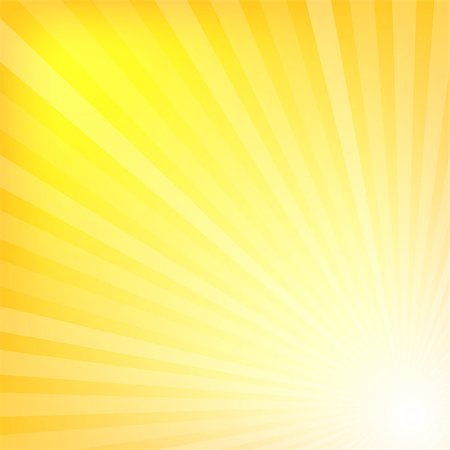 Yellow rays texture background illustration Stock Photo - Budget Royalty-Free & Subscription, Code: 400-07717180