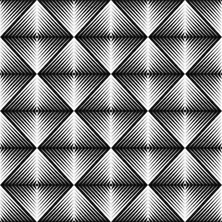 simsearch:400-04476890,k - Design seamless square trellised pattern. Abstract geometric monochrome background. Speckled texture. Vector art Stock Photo - Budget Royalty-Free & Subscription, Code: 400-07719862
