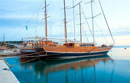 Ships in Makarska Stock Photo - Budget Royalty-Free & Subscription, Code: 400-07748947