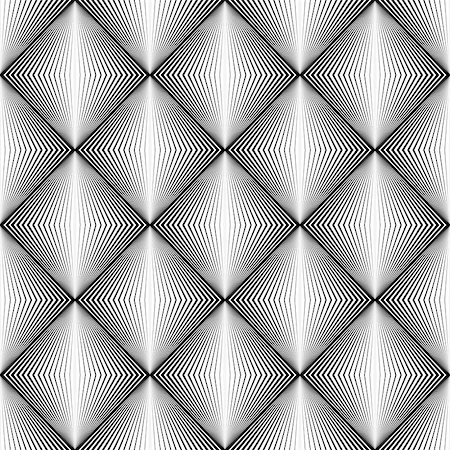 simsearch:400-04476890,k - Design seamless diamond trellised pattern. Abstract geometric monochrome background. Speckled texture. Vector art Stock Photo - Budget Royalty-Free & Subscription, Code: 400-07749078