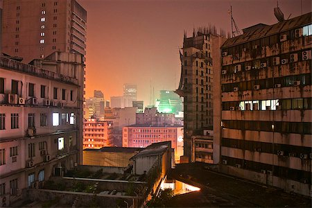 dhaka - Night view on Dhaka, Bangladesh Stock Photo - Budget Royalty-Free & Subscription, Code: 400-07825241