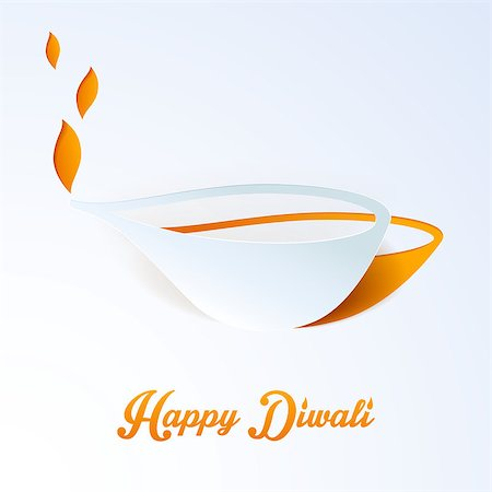 Vector illustration of Happy Diwali Stock Photo - Budget Royalty-Free & Subscription, Code: 400-07826860