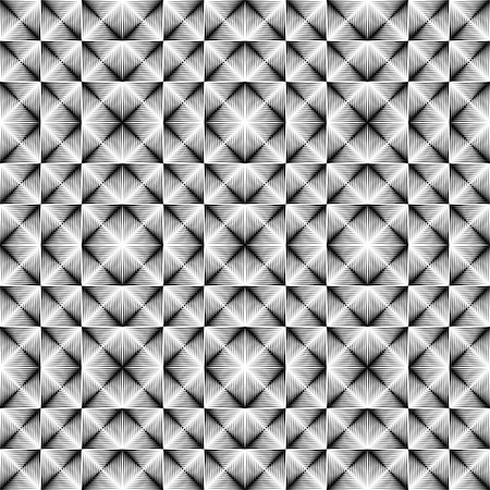 simsearch:400-04476890,k - Design seamless square trellised pattern. Abstract geometric monochrome background. Speckled texture. Vector art Stock Photo - Budget Royalty-Free & Subscription, Code: 400-07827677
