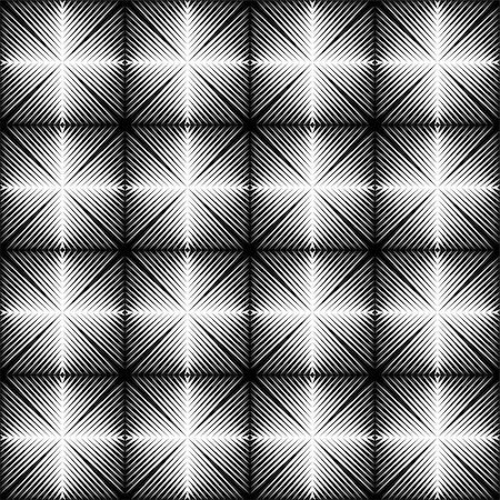 simsearch:400-04476890,k - Design seamless square trellised pattern. Abstract geometric monochrome background. Speckled texture. Vector art Stock Photo - Budget Royalty-Free & Subscription, Code: 400-07827696