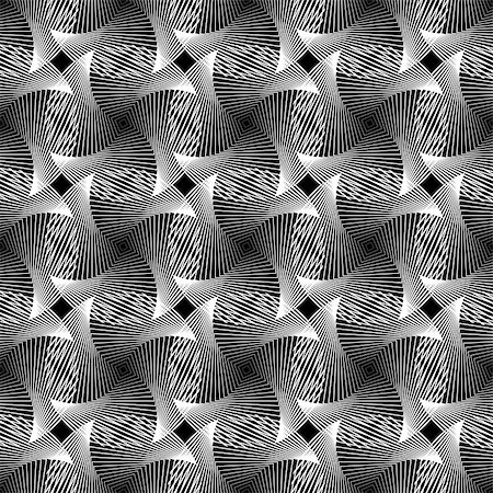 simsearch:400-04476890,k - Design seamless monochrome grid decorative pattern. Abstract textured background. Vector art Stock Photo - Budget Royalty-Free & Subscription, Code: 400-07830296