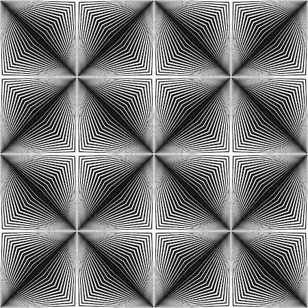 simsearch:400-04476890,k - Design seamless square trellised pattern. Abstract geometric monochrome background. Speckled texture. Vector art Stock Photo - Budget Royalty-Free & Subscription, Code: 400-07830306