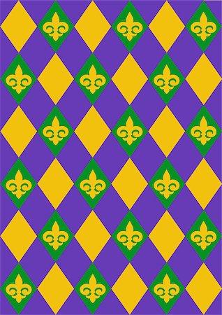 Mardi Gras background design Stock Photo - Budget Royalty-Free & Subscription, Code: 400-07840634