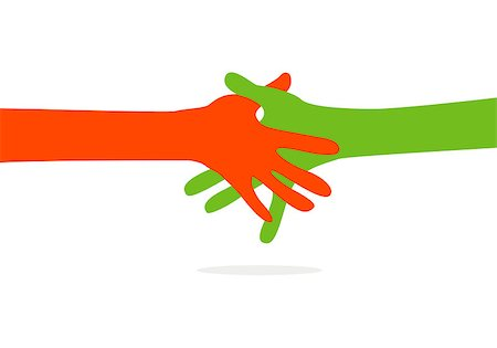 hands together Stock Photo - Budget Royalty-Free & Subscription, Code: 400-07898409