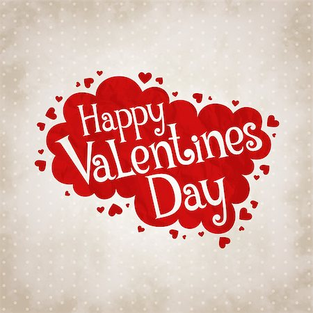 simsearch:400-04863562,k - Vector illustration for Valentine's day in vintage style Stock Photo - Budget Royalty-Free & Subscription, Code: 400-07904474