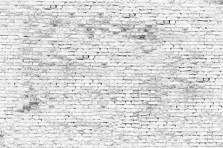Texture of white brick wall Stock Photo - Budget Royalty-Free & Subscription, Code: 400-07919615