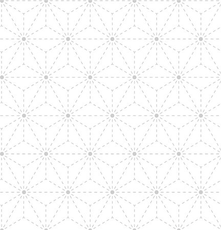 seamless - Seamless gray white geometrical pattern vector background Stock Photo - Budget Royalty-Free & Subscription, Code: 400-07956634