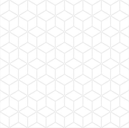 seamless - Subtle abstract geometrical seamless pattern cubes background Stock Photo - Budget Royalty-Free & Subscription, Code: 400-07956888